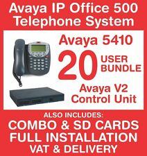 Avaya IP Office 500 Phone System (New with Refurb handsets) - 20 user - Inc VAT