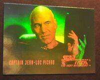 Star Trek the Next Generation Season 1 Hologram HG1 Captain Jean-Luc Picard B