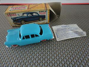 1/43 NOREV SIMCA ARIANE MIRAMAS N° 21 ANCIEN & RARE BOITE VINTAGE Model Car