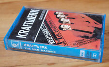 KRAFTWERK - THE MAN MACHINE (CAPITOL 3C 264 85444) ITALY 1978 CASSETTE TAPE BLUE