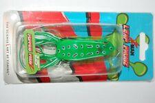 "zman bass hollow body frog leap frogz popping  2.25""  topwater green leopard"