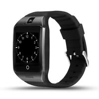 Smartwatch Q18 Bluetooth Uhr Curved Display Android iOS Samsung iPhone Huawei LG