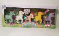 My Little Pony 35th Anniversary Rainbow Pony Collection Gift Set Scented Ponies!