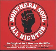 Northern Soul All Nighter - 60 Original Soul Grooves (3CD 2016) NEW/SEALED