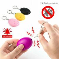 1Pcs Safe Sound Personal Alarm 130DB Security Alarm Keychain Bag Key Chain