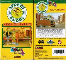 Street Frogs:Keep on Rappin VHS Video Tape New