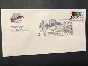 Baseball 1993 Home Opener Pirates vs San Diego Padres M239 Jack Murphy Stadium