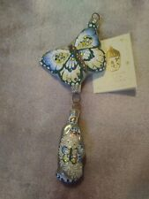 New listing 2004 Patricia Breen #2446 Nm Through the Spring Sky Christmas Ornament in Blue