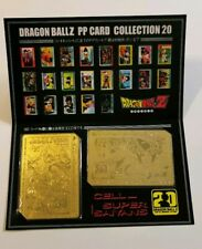 Carte Dragon Ball Z Special PP 889 & 890 Carddass Limited gold (non-officiel)