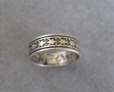 Vintage Sterling Silver Southwestern Frog Ring Signed