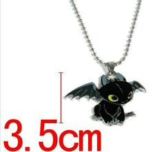 new How To Train Your Dragon Toothless Pendant Metal Necklace gift