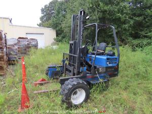 2006 Princeton Piggy Back PBX 5,000 lbs Rough Terrain Forklift -Parts/Repair