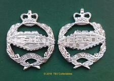ROYAL TANK REGIMENT COLLAR BADGES