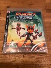 Ratchet & Clank A Crack In Time PS3 Game NEW SEALED UK PAL Sony Playstation 3