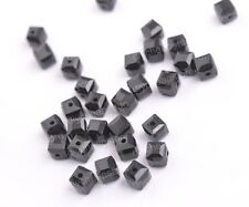 Cube Square Czech Crystal Faceted Rondelle Beads Loose Beads 4MM 6MM 8MM