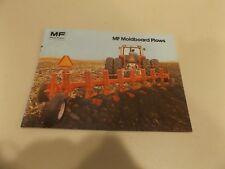 MASSEY FERGUSON MOLDBOARD PLOWS, # 855 AG 481/25-21