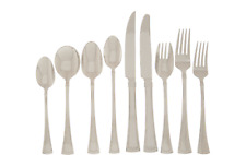 Lenox Fonthill 112 Piece Flatware Set Service For 12 Stainless 18/10 Tapered NEW
