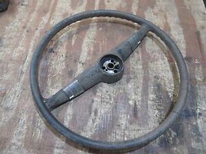 1949 1950 Chevrolet Styleline interior original steering wheel trim hot rod part