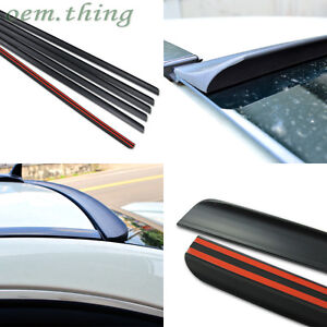 Fit FOR Audi A8 4H D4 3rd Rear Window Roof Spoiler Wing 10-12 4DR Saloon
