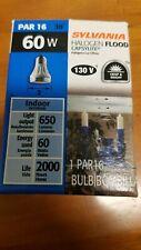 Sylvania set of (2) 59038 - 60w 130v Par16 Nfl30 2850K Halogen Light Bulb