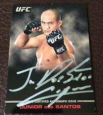 Junior dos Santos 2012 UFC Knockout Full Contact Auto #/99