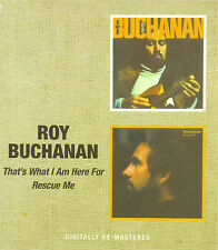 CD - Roy Buchanan - That's What I Am Here For/Rescue Me - #A2892 - Neu