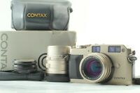 【NEAR MINT in Box】Contax G1 Green Label Rangefinder Camera 45mm 90mm 2Lens JAPAN