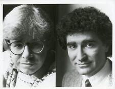 RICK MORANIS EUGENE LEVY SCTV NETWORK 90 ORIGINAL 1981 NBC TV PHOTO