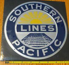 Microscale Metal Sign #10005 Southern Pacific Lines (Die Cut, Embossed Metal Sig