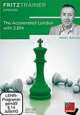 ChessBase Davies - The Accelerated London with 2.Bf4  - fritztrainer  Schach Neu