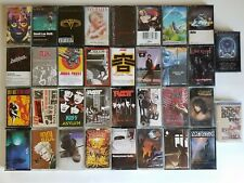 34 Tested Cassette Tapes 80s Heavy Metal Saxon Alcatrazz Accept Metal Church GNR