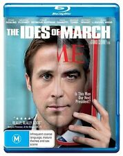 The Ides of March BluRay Region B DVD Brand New Sealed FREE POSTAGE Ryan Gosling
