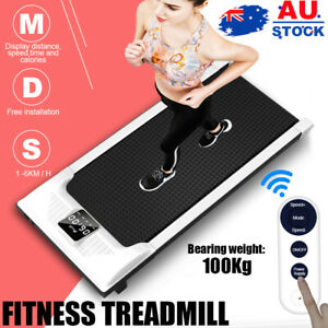 Electric Walking Pad Treadmill Home &Office Exercise Machine Fitness LCD Display