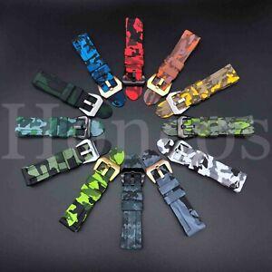 22-26 MM Watch Strap Band Rubber Fits Garmin Fenix 5/5S/5X/3/3HR Forerunner Camo