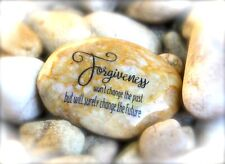 Engraved Rock ~ Forgiveness Won't Change The Past But Will Surely Change The.