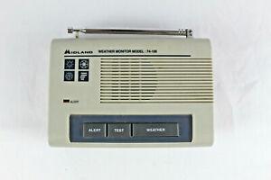 Vintage Midland Weather Monitor Radio Model 74-109 Tested and Working