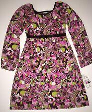 NEW Anita G Girl Friends 12 Retro Gypsy Dizzy Groovy Flower Dress NWT $53
