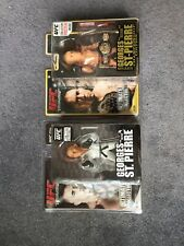 2 Georges St.Pierre UFC Round 5 action figure Lot
