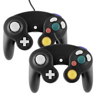 2PCS Brand New Wired Controller For Nintendo GameCube GC Wii Console Black New