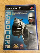 SONY PLAYSTATION 2 (PS2) ROBOCOP PAL VERSION COMPLETE