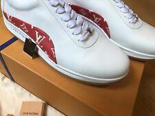 Louis Vuitton X Supreme MONOGRAM Men's Sneakers/Shoes. BRAND NEW IN BOX SIZE 9