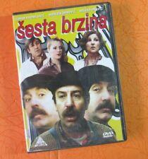 Sesta Brzina 1981 Zdravko Sotra DVD Milena Dravic, Zoran Radmilovic... Comedy