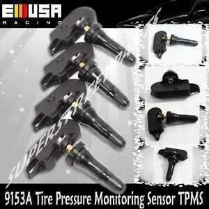 1Set 4PCS Tire Pressure Sensor TPMS for Chevy GMC Pontiac 9153 / 20153/ 28206