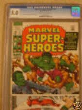 MARVEL SUPER-HEROES #27 CGC 5.0 - HULK AND DAREDEVIL