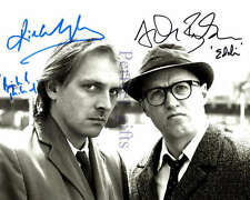 BOTTOM RIK MAYALL ADRIAN EDMONDSON EDDIE RICHIE SIGNED 10X8 REPRO PHOTO PRINT