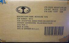 Manga Spawn Robots Deluxe Figure Case FS 2 boxes 2004 McFarlane Toys