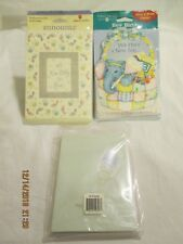 New Baby and Shower Announcements Three Packages 32 Cards and Envelopes
