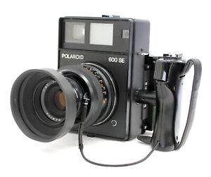 Polaroid 600SE Instant Camera w/ Mamiya 127mm F/4.7 & Polaroid Back from Japan