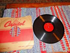 RARE! WILL BRADLEY: BEAT ME DADDY (EIGHT TO THE BAR) /78 RPM RECORD VG+ ~~B