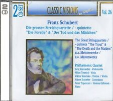 Schubert Forelle,Wanderer,Moments *2CDs NEU*OVP